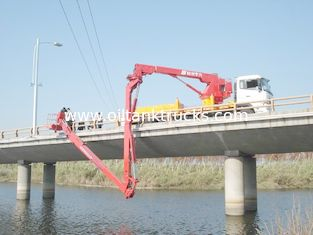 China Dongfeng 6x4 Bucket Type Bridge Inspection Equipment , bridge inspection platform 16m 270HP supplier
